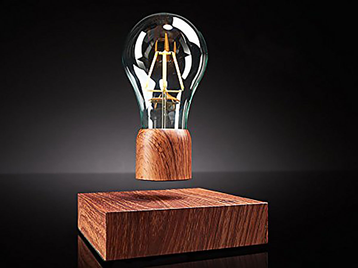 This floating lamp -- seriously, itactually floats