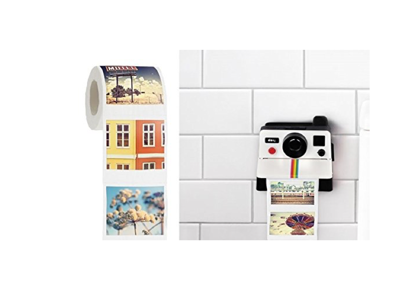 This toilet paper dispenser for Instagram hipsters📸