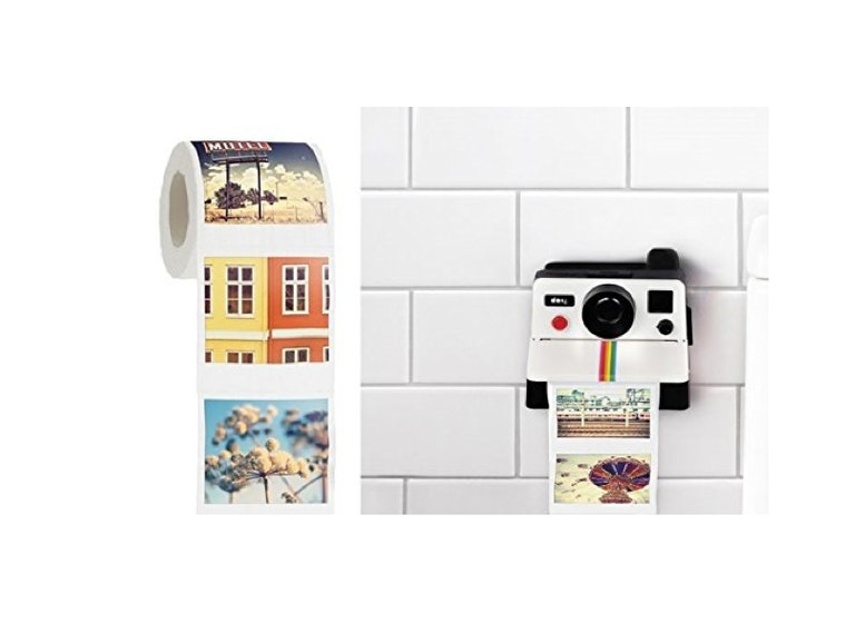 This toilet paper dispenser for Instagram hipsters 📸