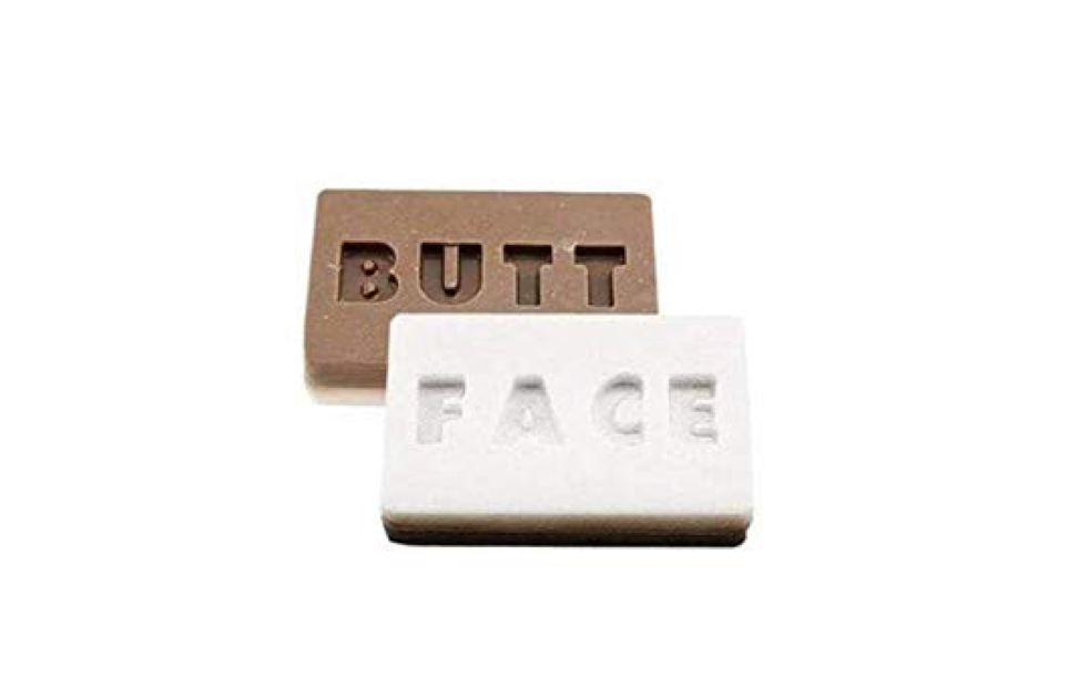 Your own dedicated bar of butt soap