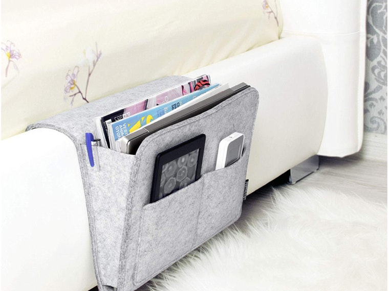 The perfect bedside (or couchside) caddy