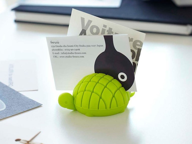 An adorable desk buddy to help you organize
