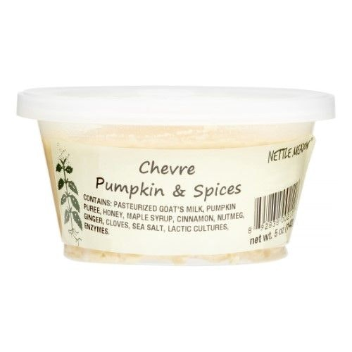 This goat cheese for pumpkin spice connoisseurs