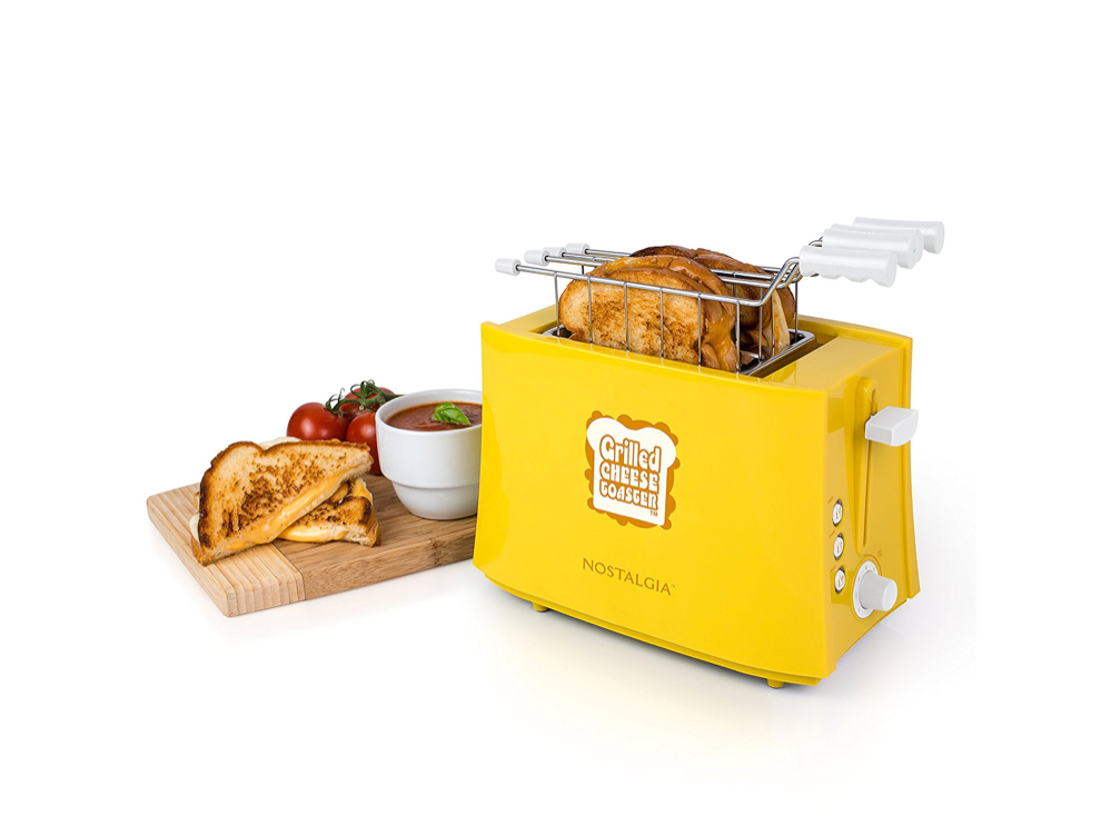 An appliance that makes toasty treats