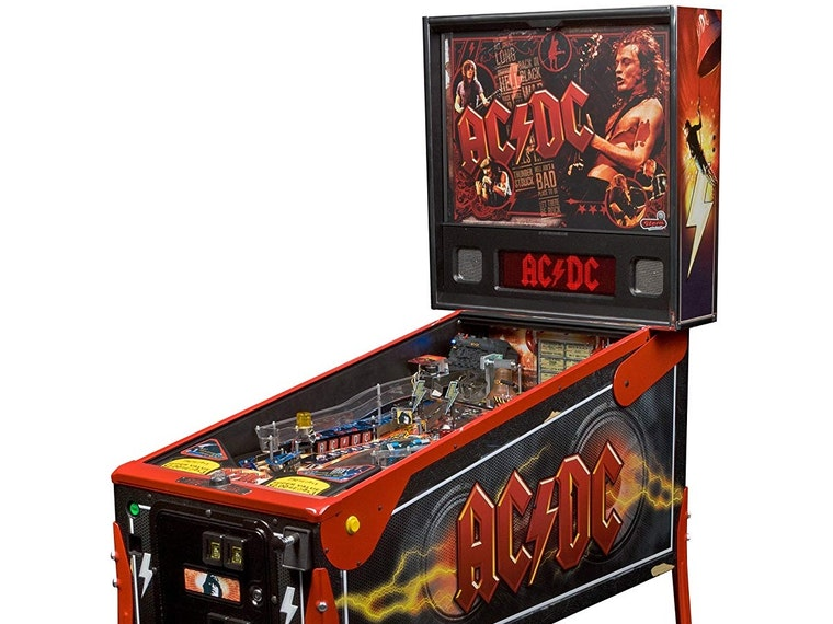 This full-sized AC⚡️DC Pinball Machine for the young at heart