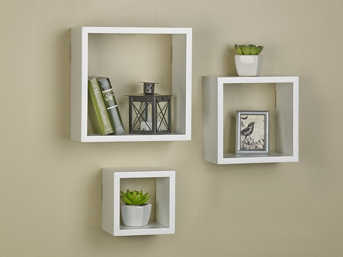 Add more storage -- and style -- with these decorative shelves