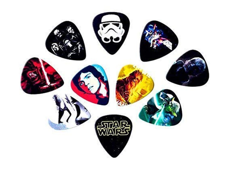 And these guitar picks