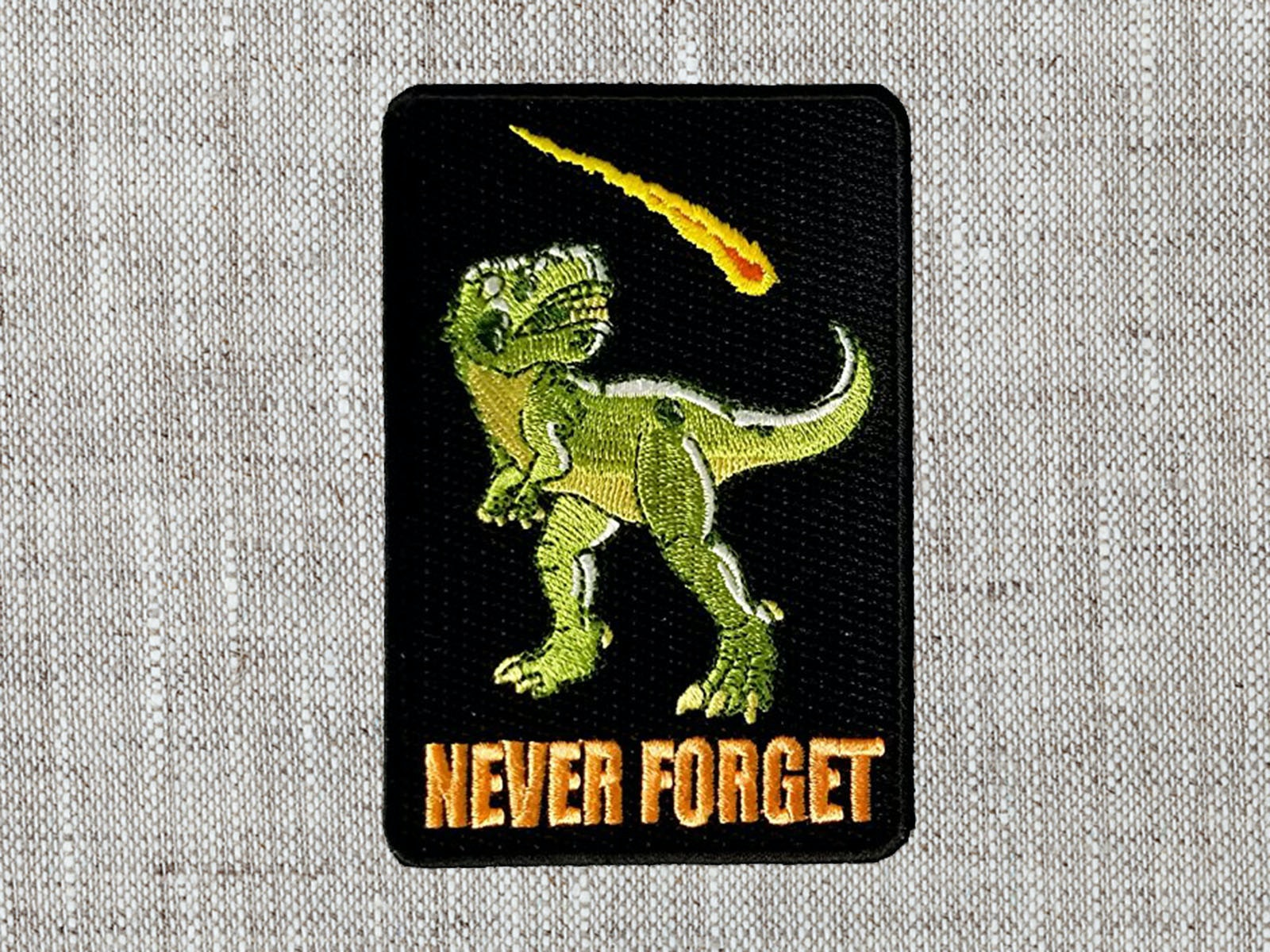 This patch to honor all the brave, fallen dinosaurs