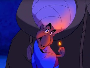 The Peddler in Disney's Aladdin Has a Secret That Will Blow Your '90s Mind