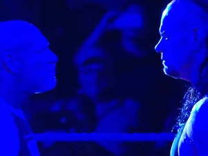 Tennis, Schmennis: It's About to Get Real Between WWE's Undertaker and Goldberg