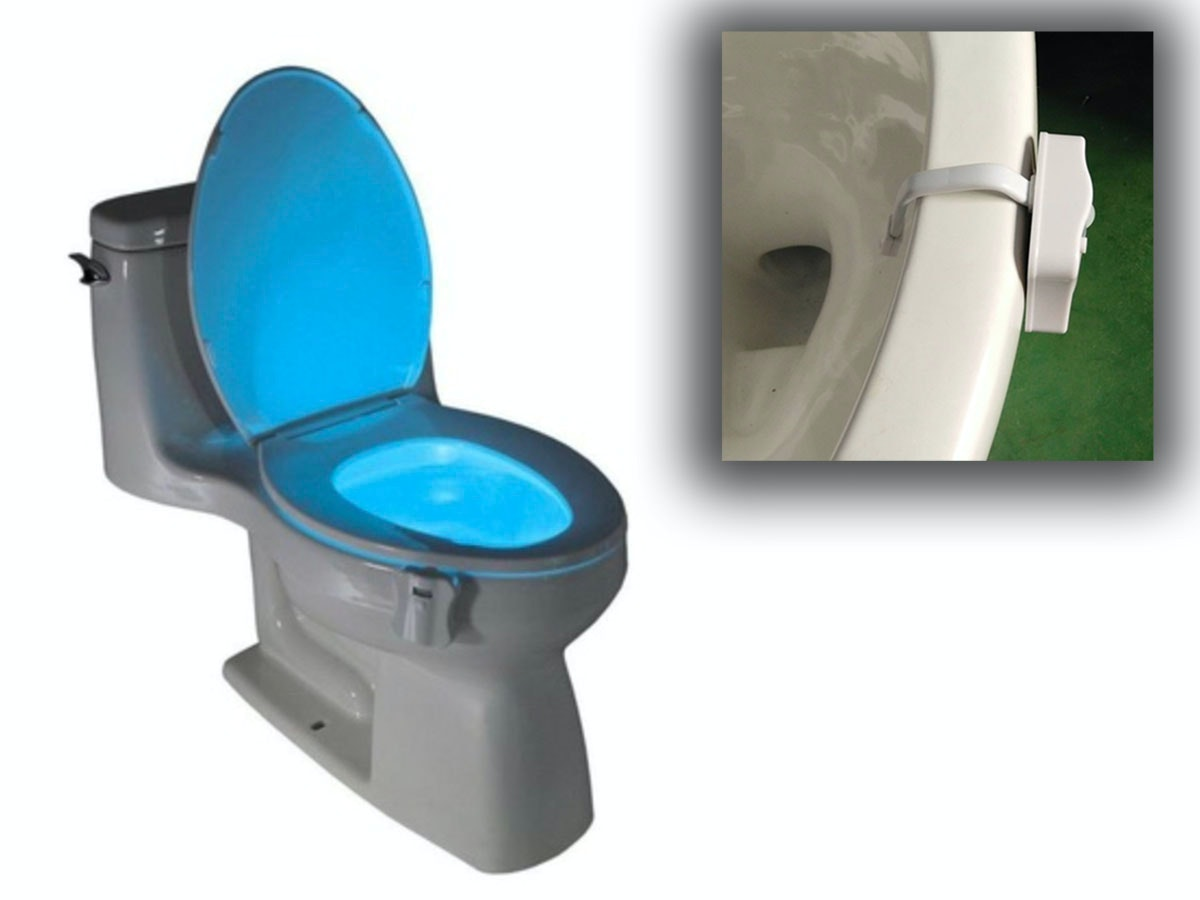 This motion-sensing toilet light that shows you what you've been missing