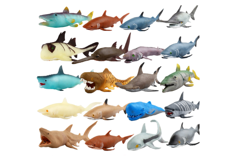 This collection of sea monsters