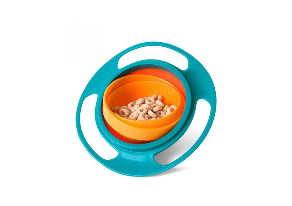 This gyroscopic bowl that is impossible to spill