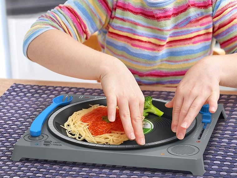 A safe way for kids to play with food