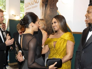 Meghan Markle and Beyoncé Meet Publicly for the First Time: See the Pics!