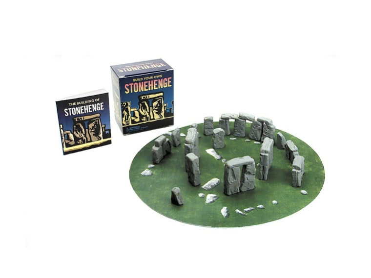 A tiny Stonehenge that you build yourself