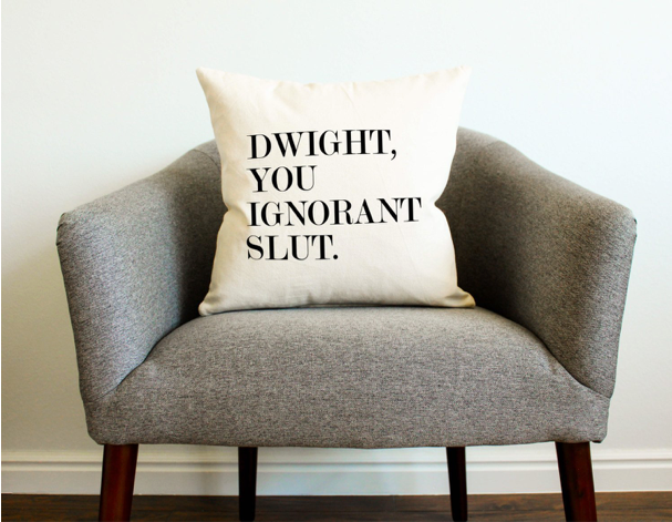 A pillowcase that doesn't pull punches
