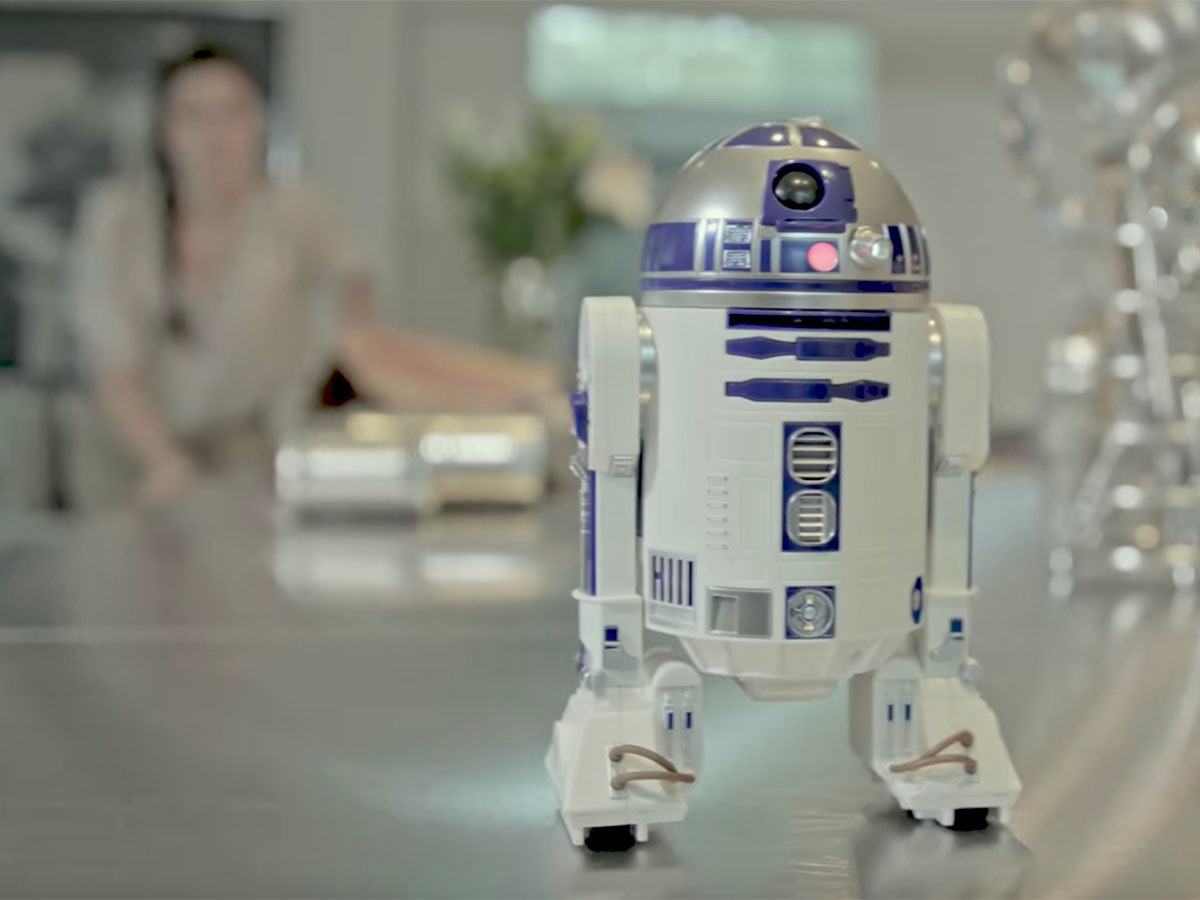 This friendly astromech droid of your very own