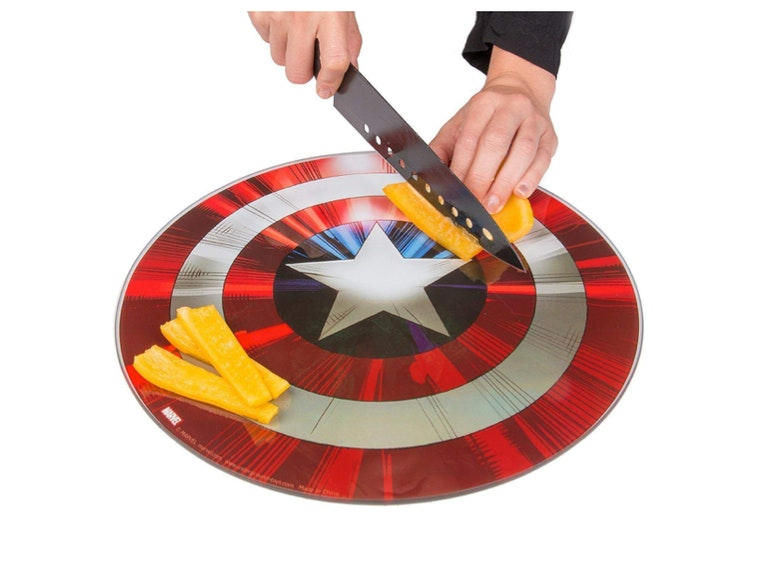 This patriotic cutting board 🧀