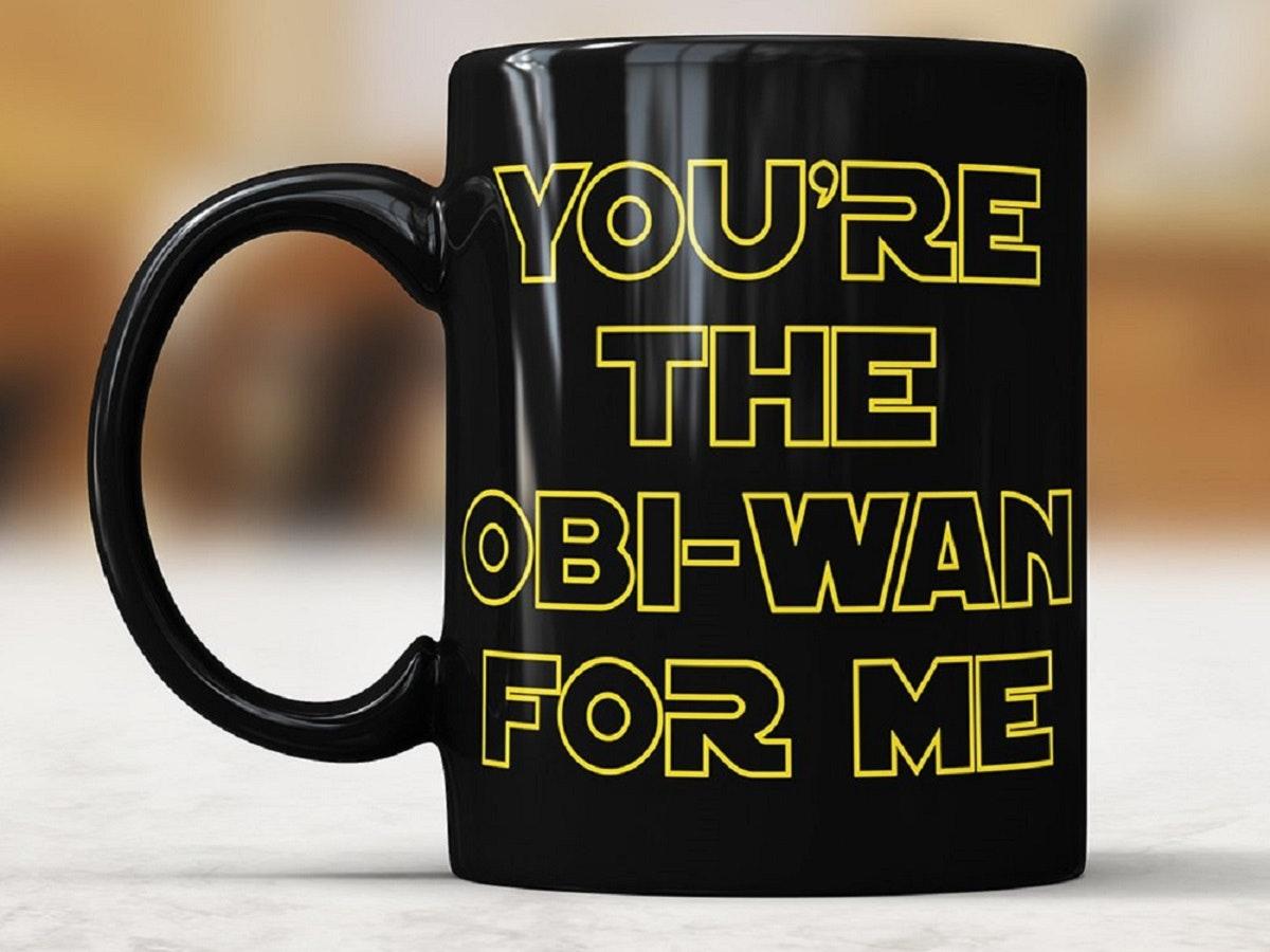A coffee mug for your Jedi love