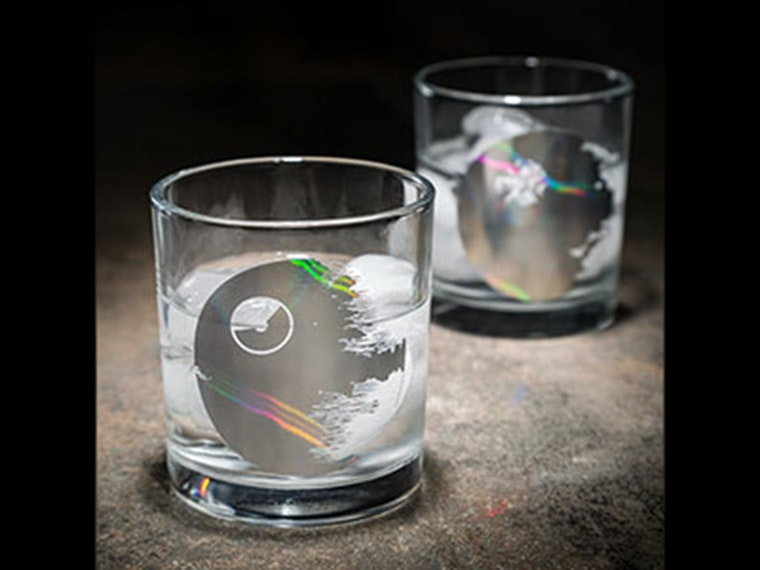 These geeky Star Wars drinking glasses