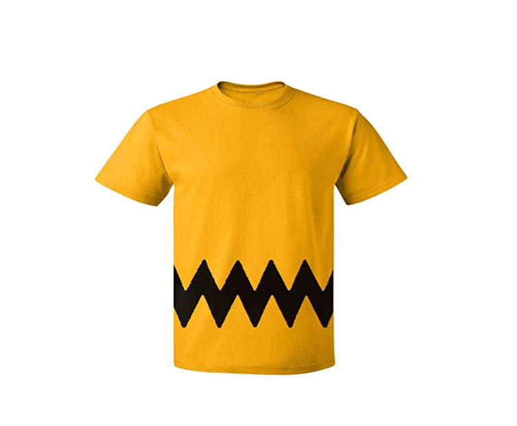 This classic Charlie Brown T-shirt