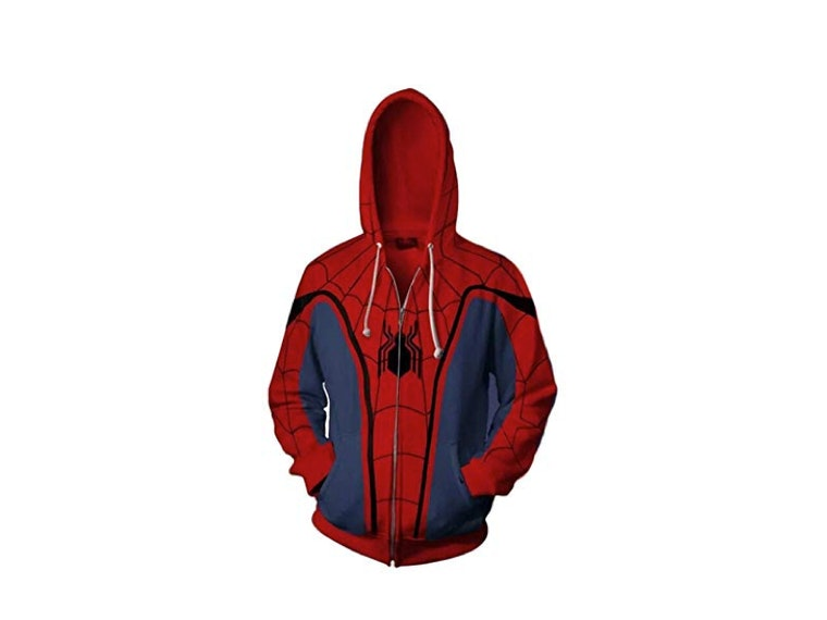 This hoodie that turns you into Spiderman... without the bite 🕷️☢️