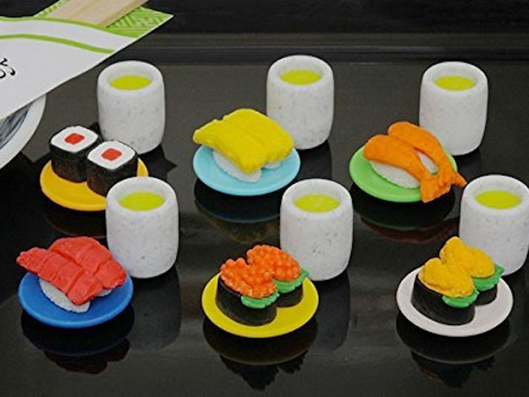 These delicious-looking erasers that you should definitely not eat