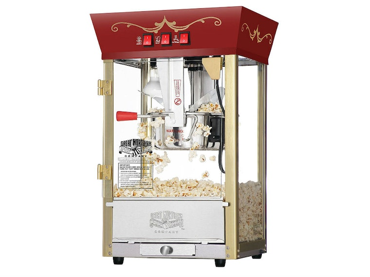 This old-school machine for fresh and addictive snacks