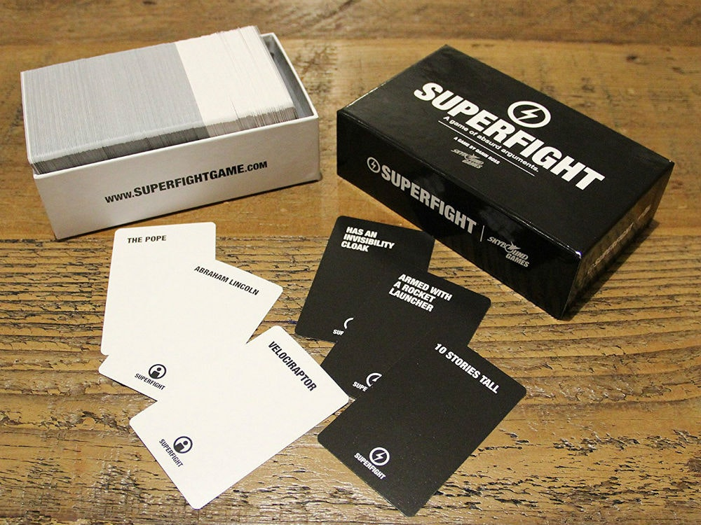 This game that's like Cards Against Humanity, butless raunchy