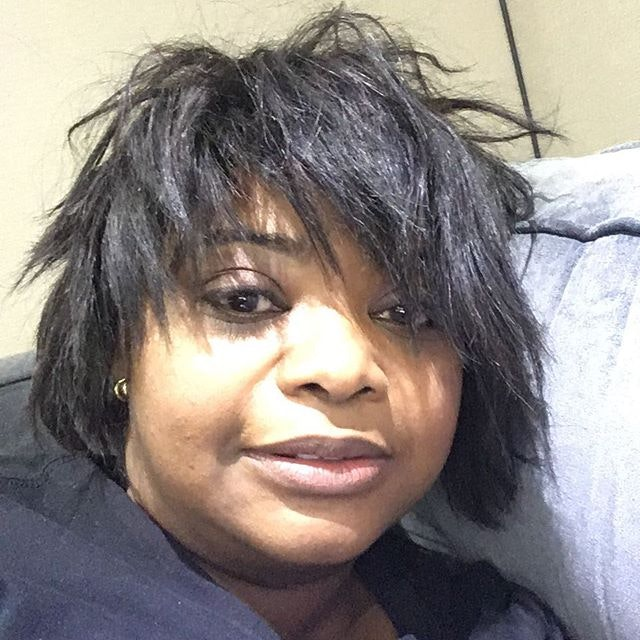 Best Celebrity Instagram Photos Tonight: Octavia Spencer and China Anne McClain