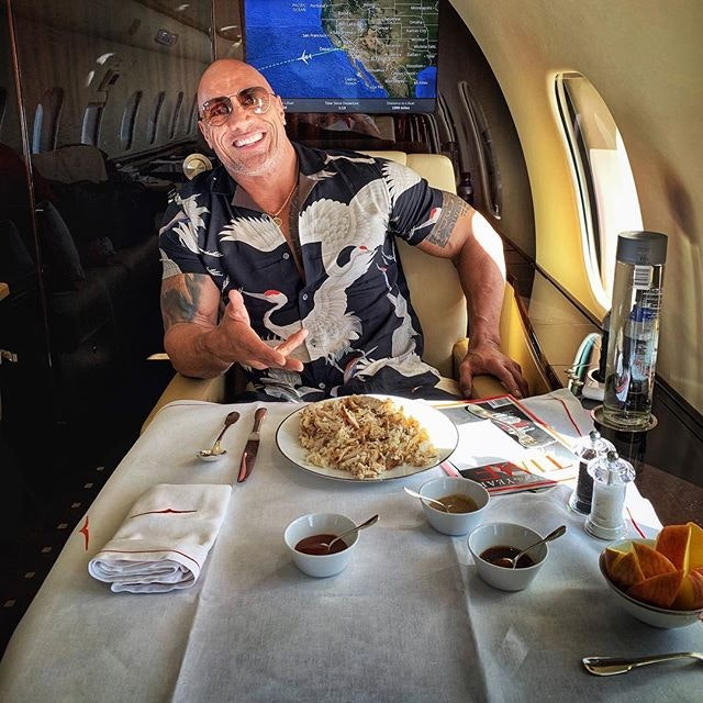 Best Celebrity Instagram Photos Today: Dwayne The Rock Johnson and Ariana Grande