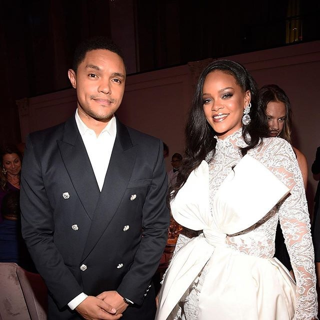 Best Celebrity Instagram Photos Tonight: Trevor Noah and Nicki Minaj