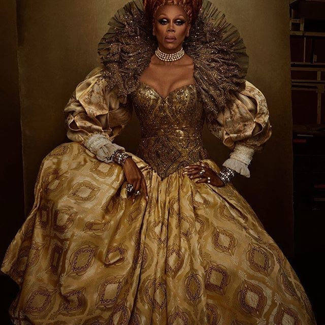 Best Celebrity Instagram Photos Today: RuPaul and Octavia Spencer