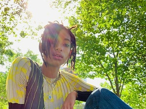 Willow Smith and Kris Jenner Totally Own Celebrity Instagram Tonight