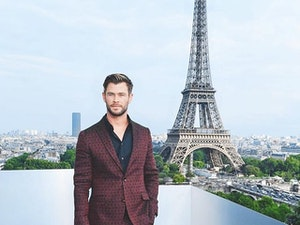 Today's Most-Liked Instagram Photos: Chris Hemsworth and Sophie Turner