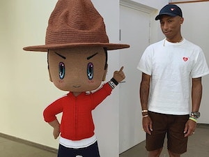 Pharrell Williams and Justin Bieber Have Today's Top Instagram Photos