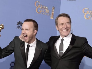 'Breaking Bad' Stars Bryan Cranston and Aaron Paul Reunite and Fans Are Freaking Out