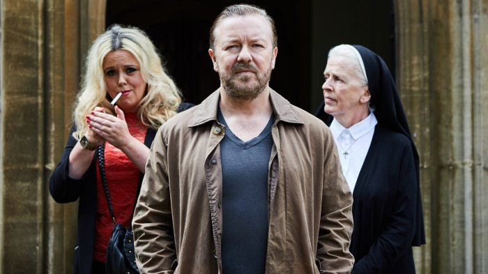 Is This Ricky Gervais' Greatest Role Yet? The Internet Thinks So