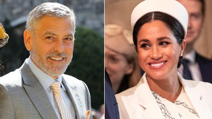 Here's Why George Clooney Spoke Out to Defend Meghan Markle
