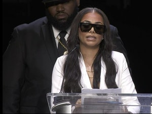 Lauren London Gives Touching Eulogy at Nipsey Hussle's Funeral