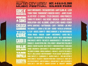 Austin City Limits Music Festival Lineup: Childish Gambino, Cardi B, Billie Eilish, Mumford and Sons Will Perform
