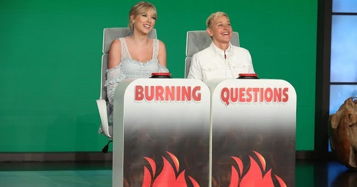 Taylor Swift Stopped by Ellen DeGeneres' Show and We Learned So Much