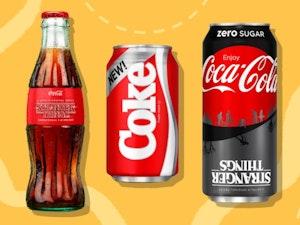 Coca-Cola's New Coke Returns Just in Time for 'Stranger Things' Season 3