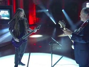 Mike Huckabee and Korn's Head Jammed Together: What a Time to Be Alive