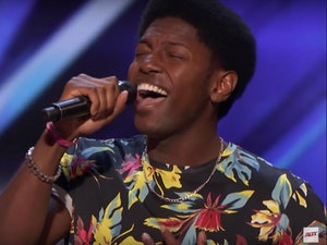 'America's Got Talent': Howie Mandel Stomps on Golden Buzzer for Singer Joseph Allen