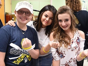 Selena Gomez Spent the Day Visiting Kids at a Kansas City Children's Hospital