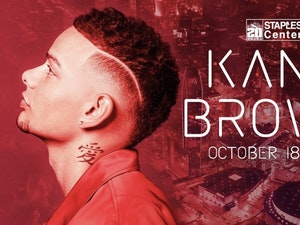 Kane Brown to Headline Staples Center 20th Anniversary Celebration