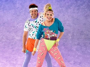 Watch Jimmy Fallon and Kate Upton's Hilarious '80s Aerobics Challenge