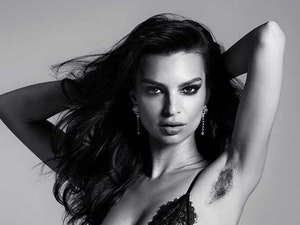 The Internet Is Upset Over Emily Ratajkowski's Armpit Hair and We Give Up